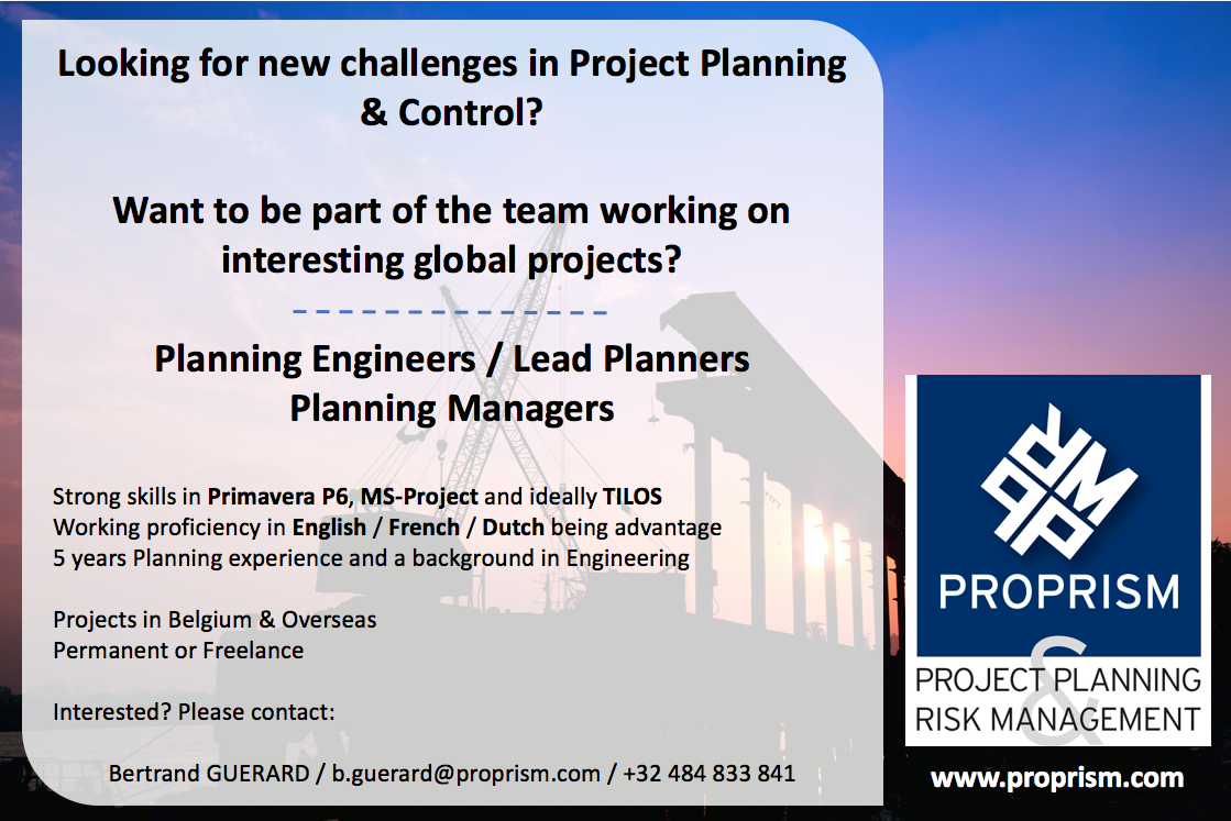 Lead Planner - Planning Manager - Primavera P6 - MS-Project - TILOS